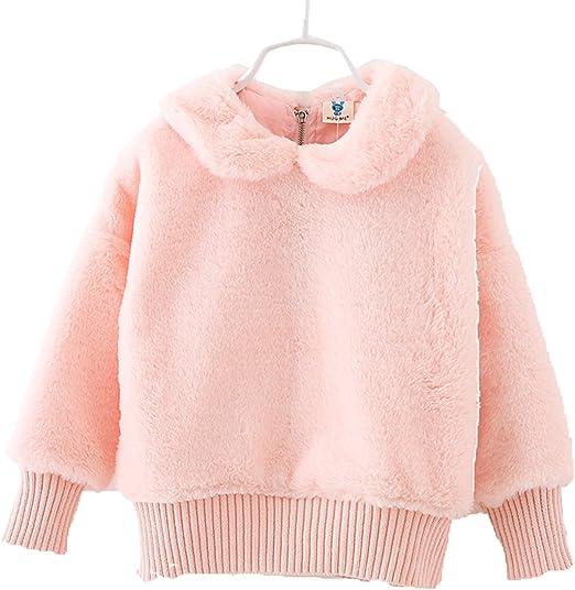 Lemonkids Winter Fancy Children Lolita Girls Fleece Sweatshirt Outfit Jacket
