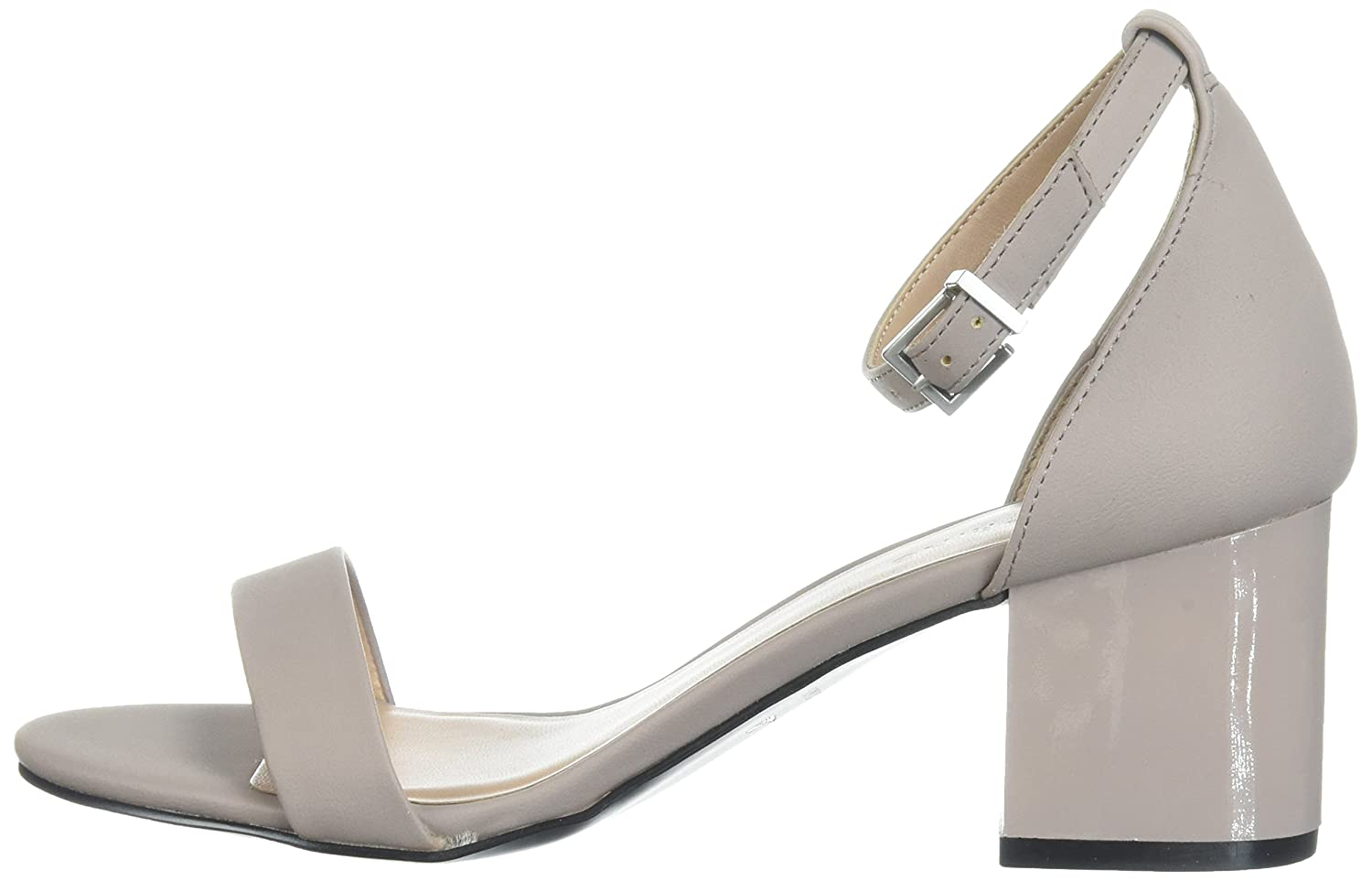 6 B US Call It Spring Womens Elerranna Dress Sandal Grey Miscellaneous