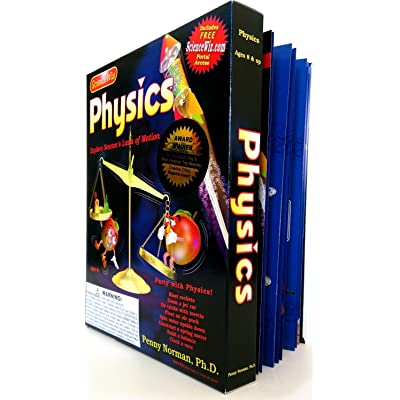 ScienceWiz Physics Experiment Kit and Book 24 Experiments, Motion: Toys & Games