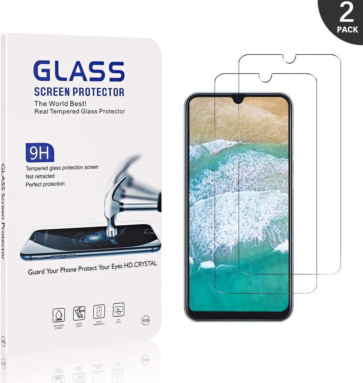 Generic Schutzfolie f/ür Samsung Galaxy A50 2 St/ück LAFCH 9H H/ärte Anti-Kratzen Folie Panzerglas Displayschutzfolie