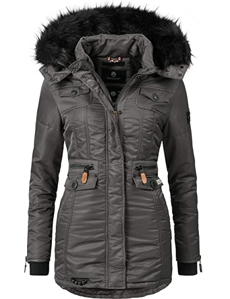 newest 4cb63 be155 Navahoo Damen Winter-Jacke Winter-Mantel Steppmantel Schätzchen 11 Farben  XS-XXL