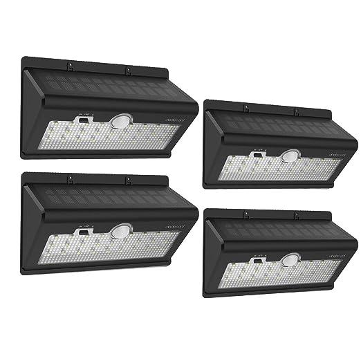 5 opinioni per dodocool Solare di 26 LED [4 Pezzi] Resistente all'Acqua 520LM Ultra Bright