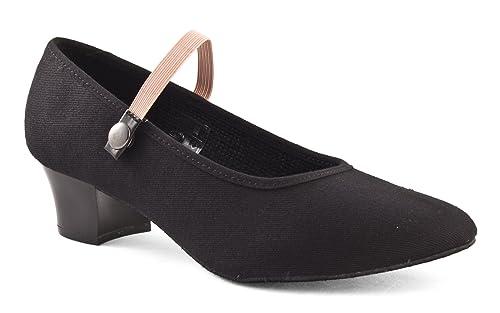 Girls Ladies RAD Character Syllabus Ballet Dance Shoes Cuban Heel Katz Dancewear
