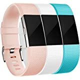 For Fitbit Charge 2 Bands, Maledan Replacement Accessory Wristbands for Fitbit Charge 2, Small