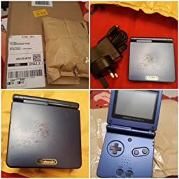 Nintendo Blue Sp Console Gba Amazon Co Uk Pc Video Games