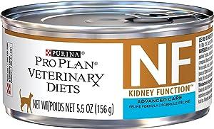 Purina Pro Plan Veterinary Diets NF Kidney Function Advanced Care Feline Formula Adult Wet Cat Food, 5.5 oz., Case of 24, 24 X 5.5 OZ