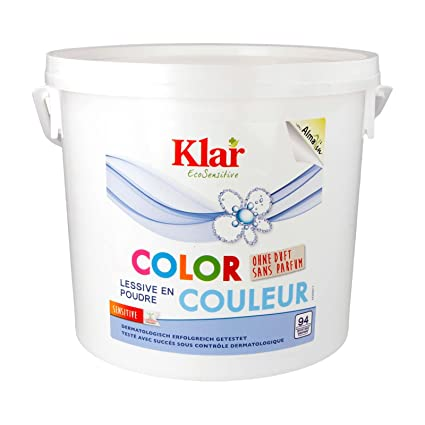 Klair detergente de color sin perfume, bolsa grande: Amazon ...