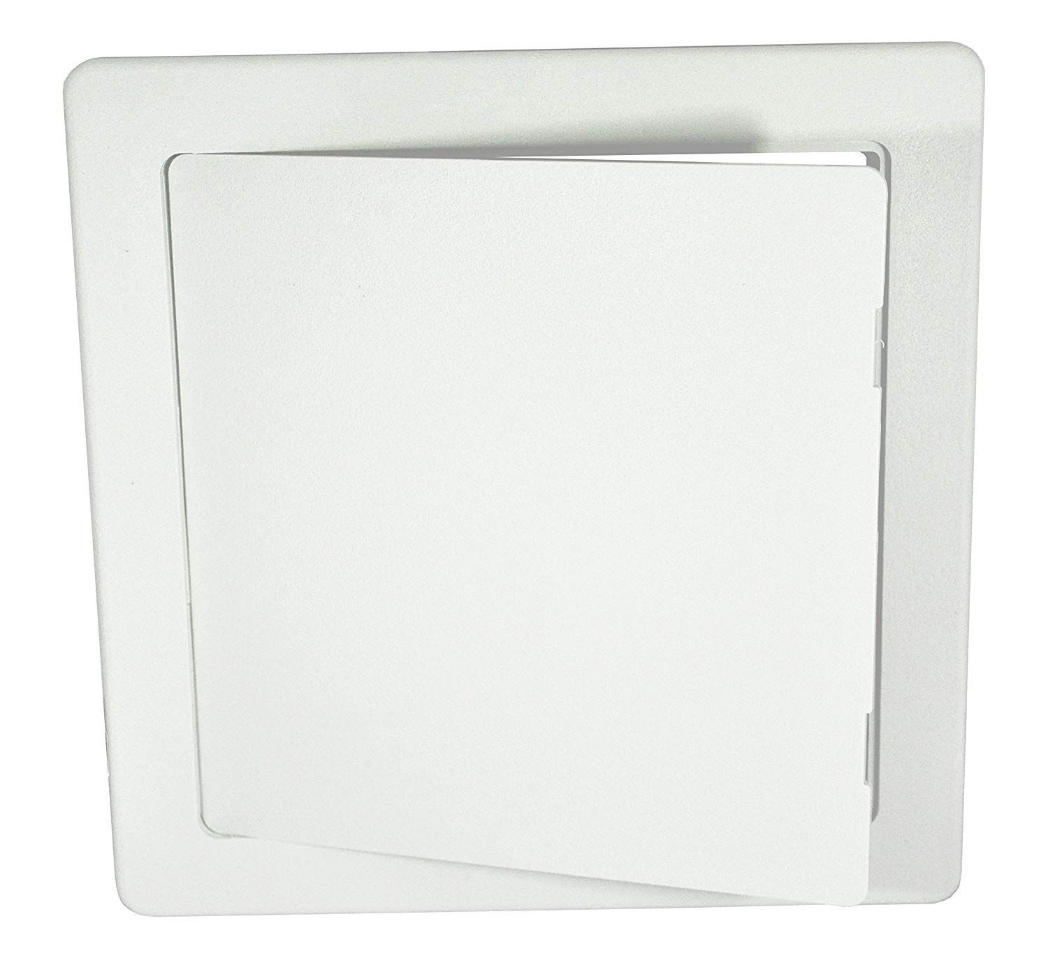 Surface Fit White ABS Plastic Access Panel/Inpsection Hatch 350mm x 350mm (14' x 14') - Hide: taps, valves, Wiring, Meters etc. AXBO