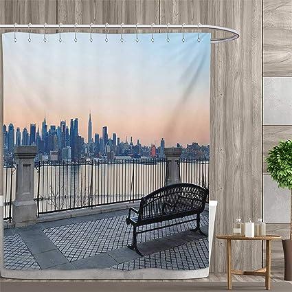 Amazon Com Smallfly Landscape Shower Curtains 3d Digital