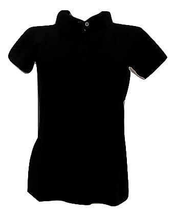 CALVIN KLEIN JEANS - Polo - para mujer negro XL: Amazon.es: Ropa y ...