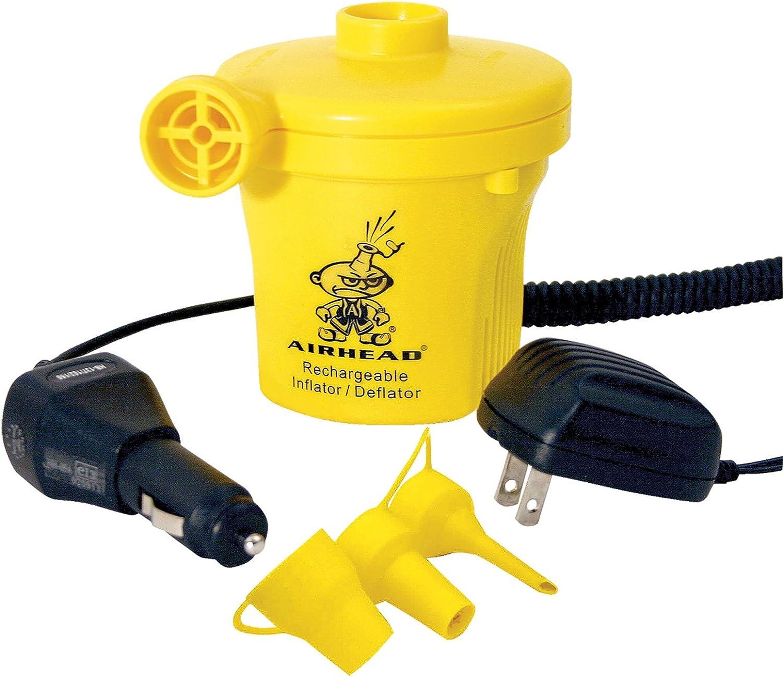 Kwik Tek Airhead Rechargeable Air Pump 12V Yellow AHP-12R
