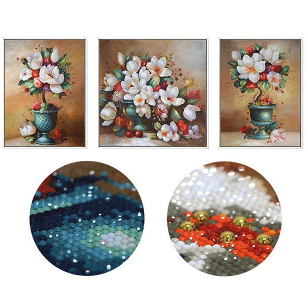 Mazixun DIY Diamond Painting Special''Flowers'' Diamond Embroidery Full Cross Stitch Diamond Mosaic Bead Picture Home Decor