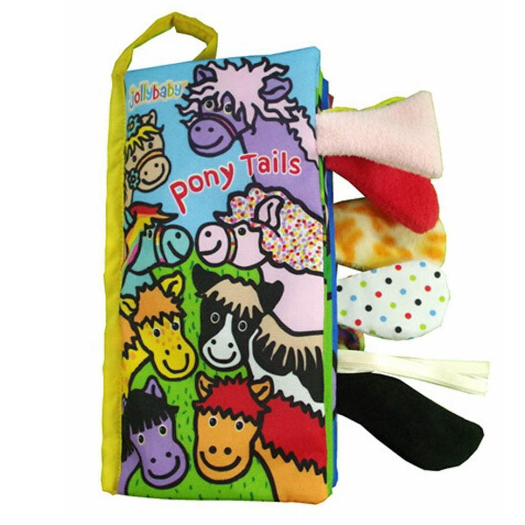 Animal Cloth Book Baby Toy Cloth Development Books Learning Education Gift
