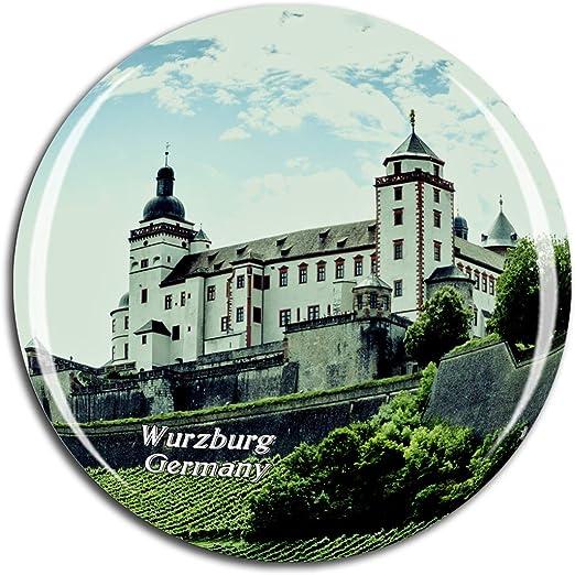 Travel Souvenir Magnet WURZBURG Germany