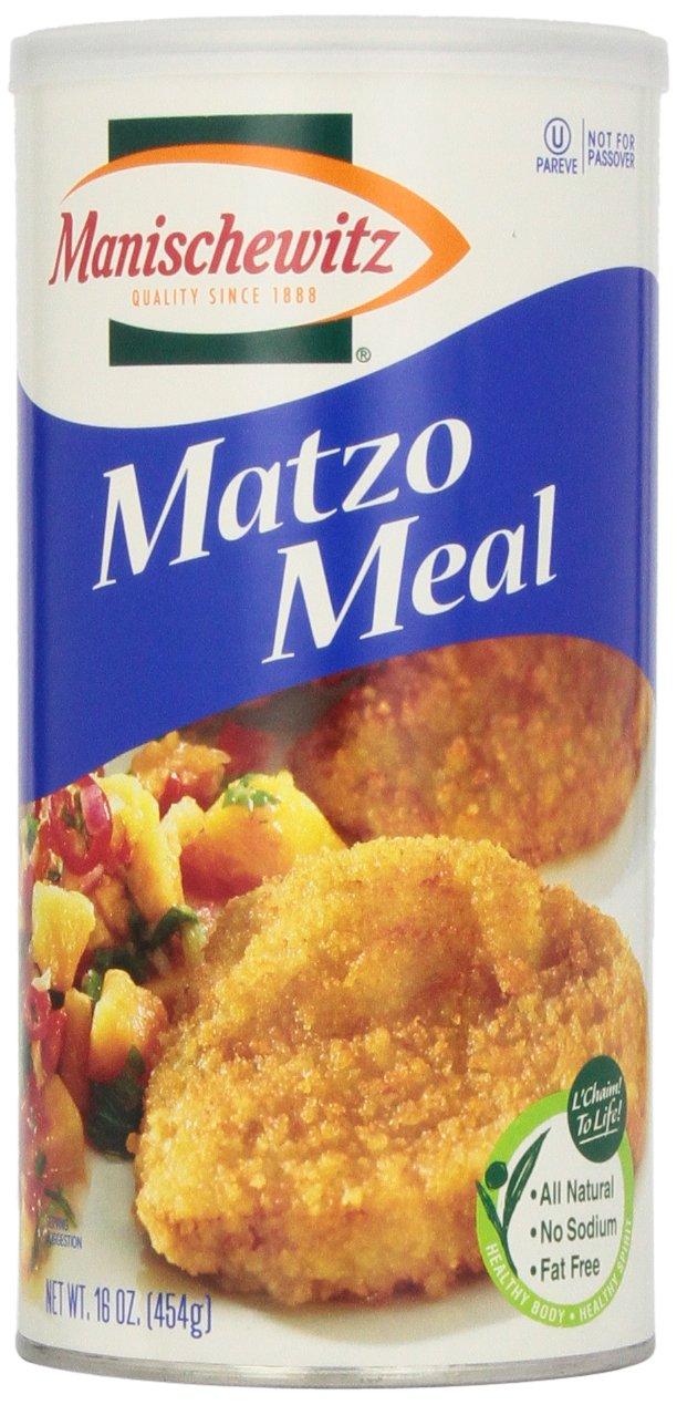 Manischewitz Matzo Meal Canister, 16 oz