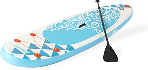 Banzai 10 Inflatable SUP Stand Up Paddle Board Adjustable Paddle Backpack