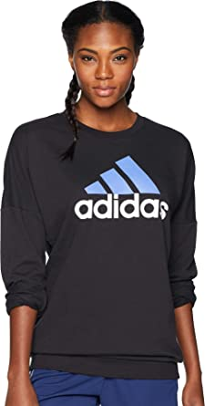 3b14dfb50018 adidas Womens Badge of Sport Pullover at Amazon Women's Clothing store: