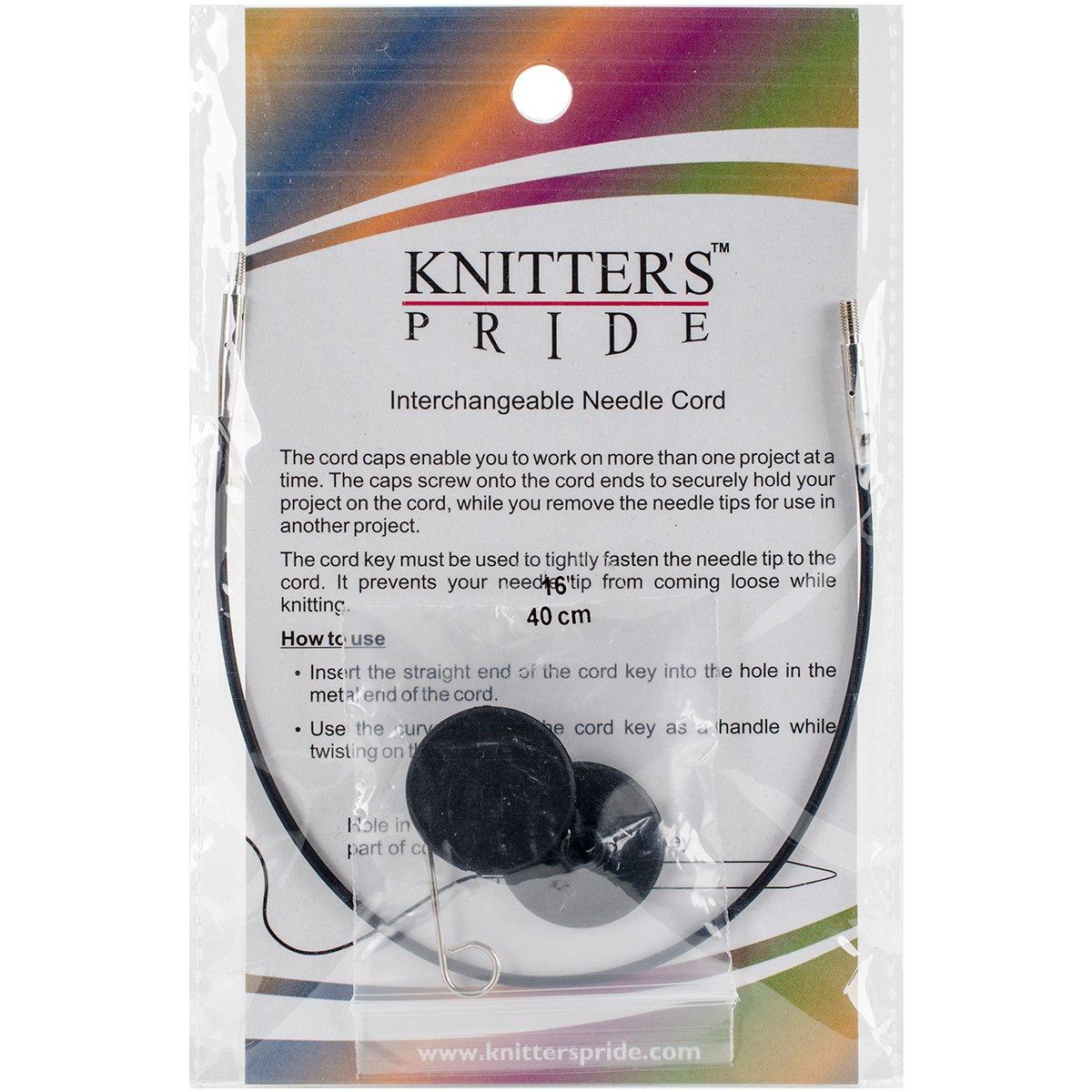 Knitters Pride - Cordones Intercambiables 8  (16 Con Puntas)