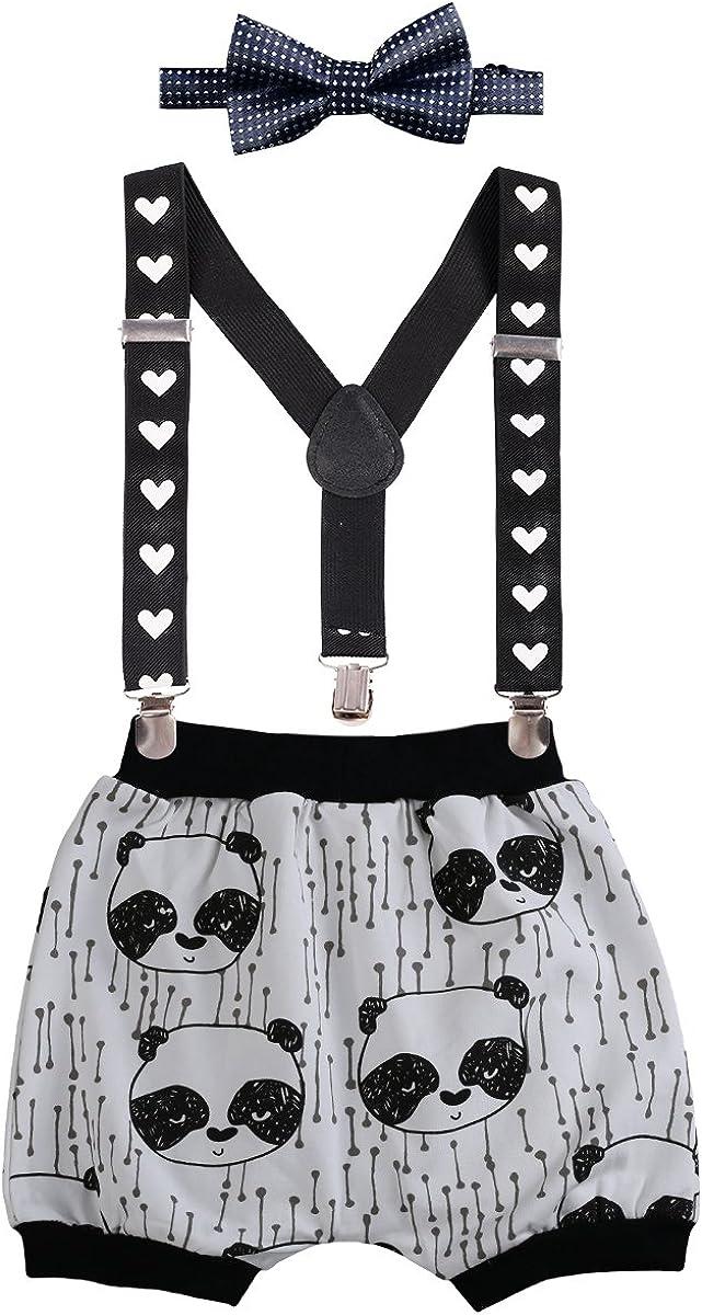 Adjustable Y Braces//Suspender Bow Tie Photo Props Formal Gentleman Outfit Suit 3pcs Set Newborn Infants Baby Boys Kids Toddlers 1st Birthday Cake Smash Print Harem Pants Shorts