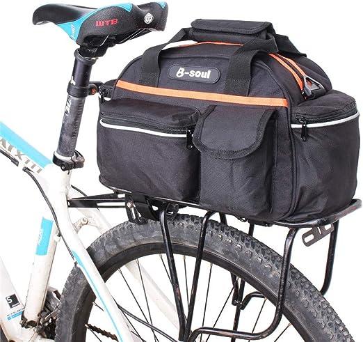 Bike Bolsa de Equipaje Al Aire Libre Bicicleta Ciclismo MTB ...