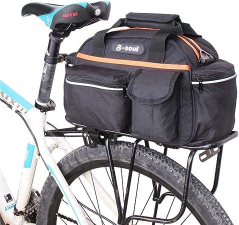 Bolsa de bicicleta Equipaje Del Maletero De La Bicicleta Montar En ...