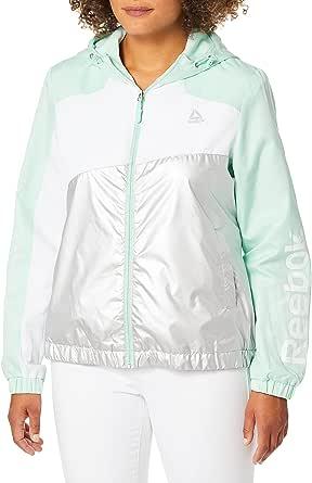 Reebok Womens Windbreaker Jacket Windbreaker