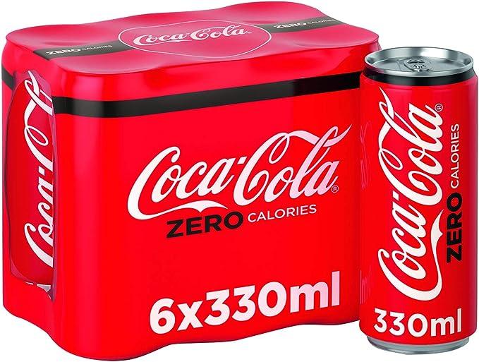 COKE ZERO 24X330ML CAN A06992: Amazon.es: Electrónica