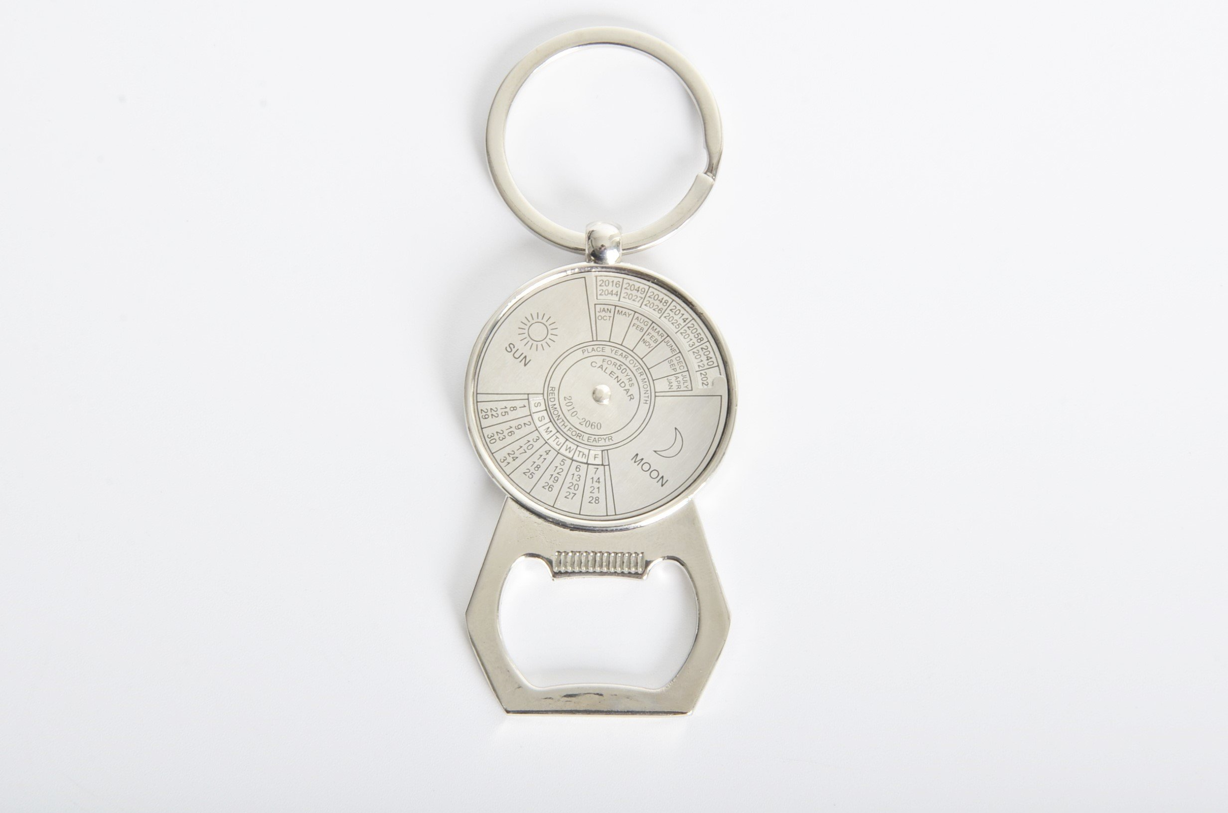 Keychain Multi-function Keyring Heavy Duty Stainless Steel Key Rings with Bottle opener MGCFTan Calendar accessories