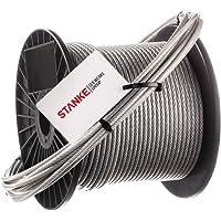 Seilwerk STANKE 40 m Cuerda de Acero Inoxidable