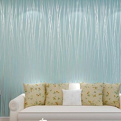 Bfeplfahion 10M Wallpaper Bedroom Living Room Modern Wall TV ...