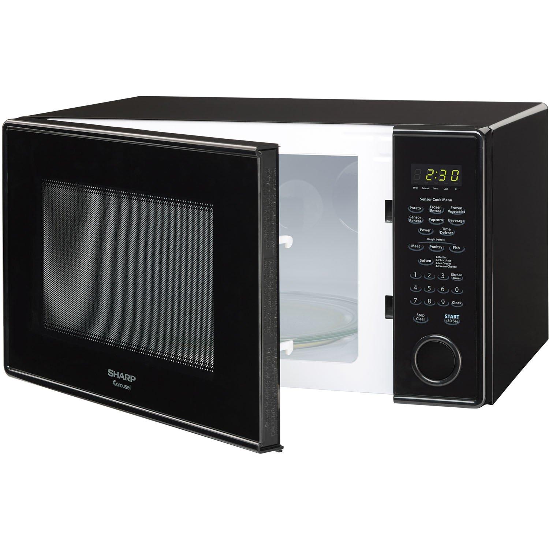 Amazon Sharp R459YK Carousel Countertop Microwave Oven 1000