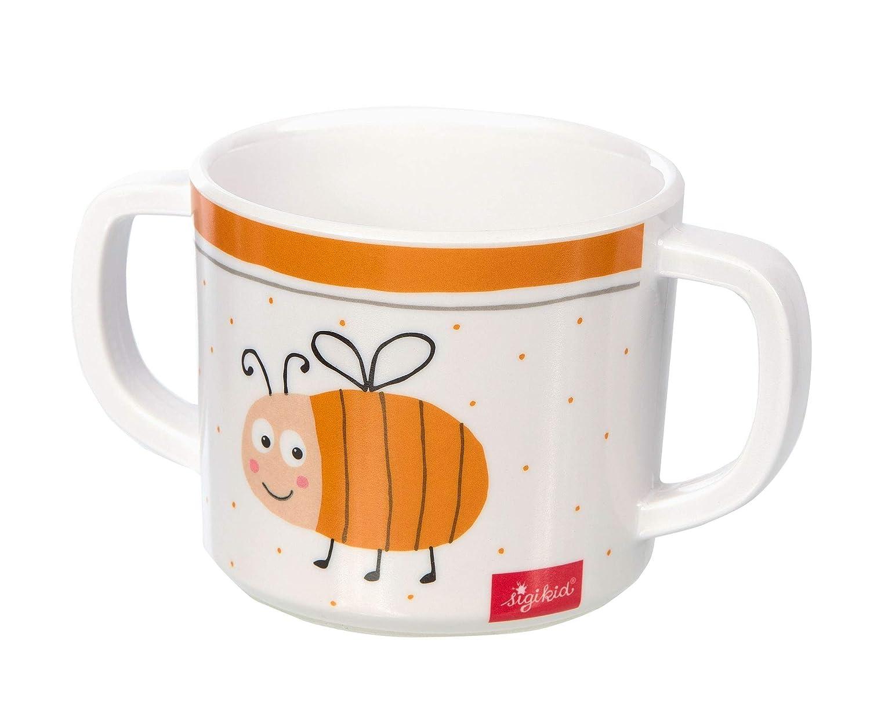 24984 Orange Melamin Set sigikid Motiv Biene M/ädchen und Jungen