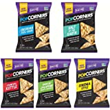 Medora Snacks Popcorners Popped Corn Chips Variety Mix 1.1 Ounce Bags (40 Pack)