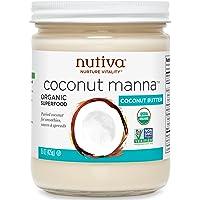 Nutiva 优缇 甘露椰子果酱 椰汁抹酱 原料纯椰肉酱 425g(美国进口)