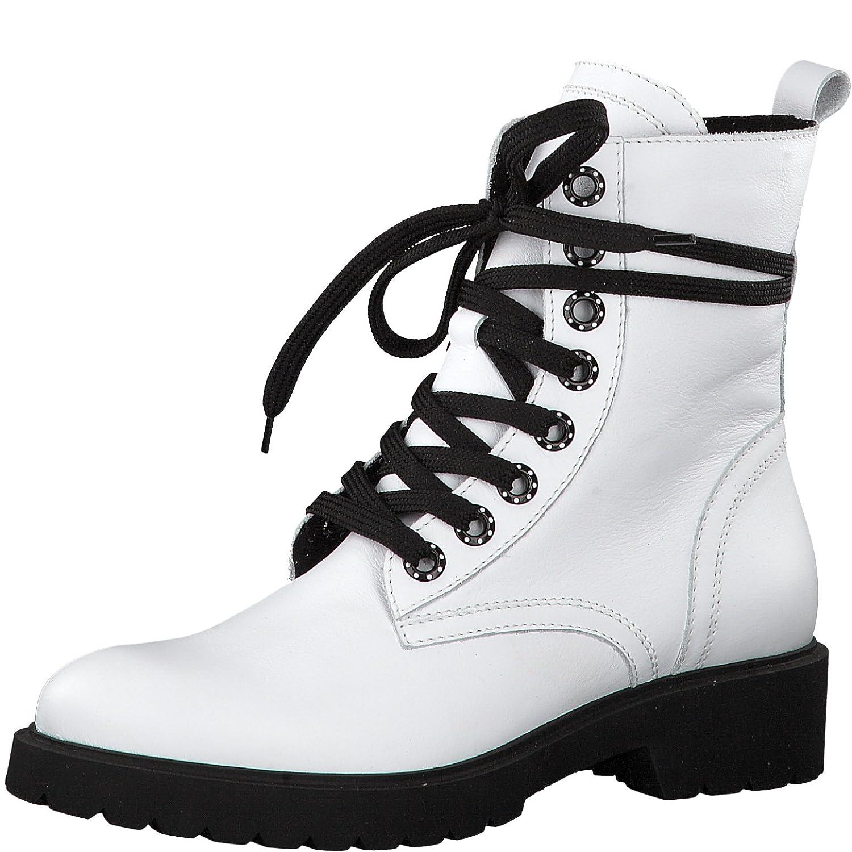 Weiß Tamaris Damen 25408 Kurzschaft Stiefel
