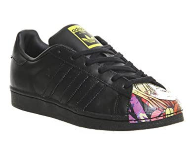 adidas Originals Men s Superstar Pharrell Supershell Black Leather Sneakers  - 7 UK  Buy Online at Low Prices in India - Amazon.in 3b3e2fd05