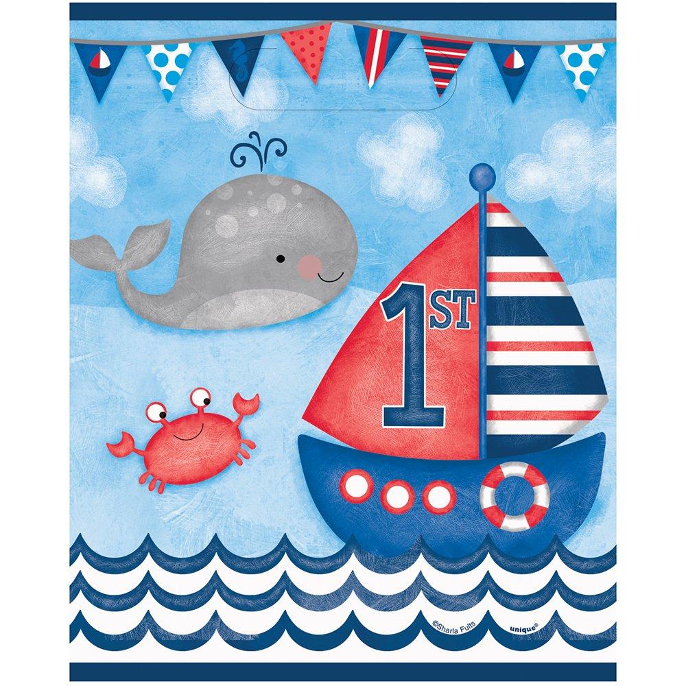 Unique Party Nautical 1st Birthday Block Banner - 12 Feet 58178