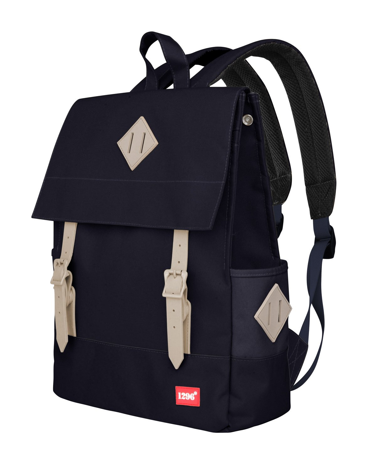 blnbag U1 - Leichter Tagesrucksack, Daypack für Damen und Herren mit Laptopfach, multifunktionaler City Rucksack, Backpack, Unisex, Beige