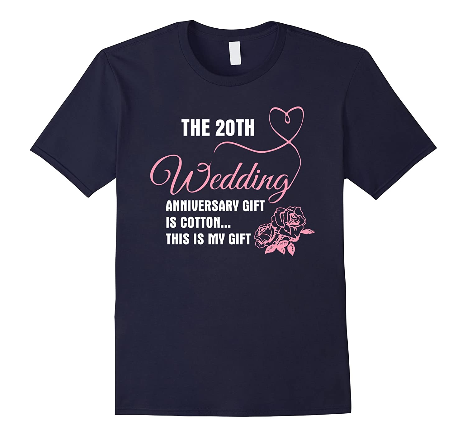20th Wedding Anniversary Shirt - Gift For My Lovers-CD