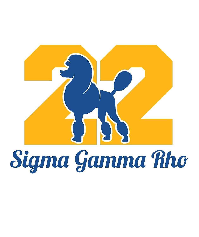 66786810b0f22 Sigma Gamma Rho Poodle 1922 Print Tank Top Premium Collection