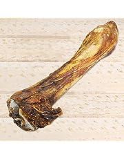 Pferdeknochen XXL Länge ca 35 cm Große schwere Beinknochen vom Pferd. Ideal zum Knabbern für empfindliche allergische Hunde Pferdeknochen XXL mit Fleisch und Sehnen