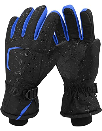 Ski Gloves for Men and Women Waterproof Windproof Snow Skiing Snowboarding  Snowmobile Gloves for Winter Outdoors 4ffa51510