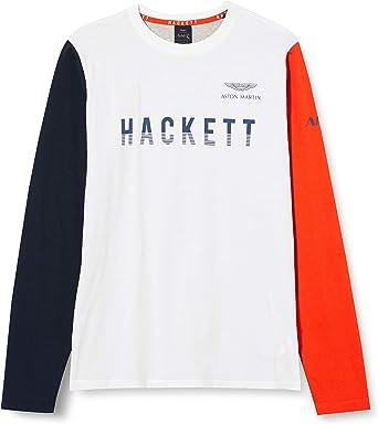 Hackett London Amr Shldr Pn SS Y Camiseta para Ni/ños