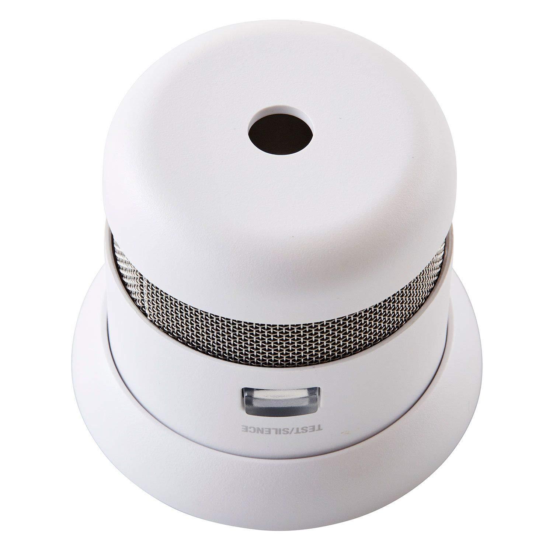 Primera alert-atom Micro fotoeléctrico de humo y alarma de incendio: Amazon.es: Bricolaje y herramientas