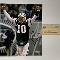 $39 » Autographed/Signed Chad Pennington New York Jets 8x10 Football Photo Steiner Sports COA