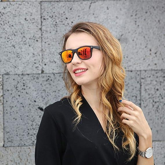 smile-coco Gafas de sol unisex, cuadradas, vintage, famosas ...