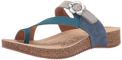 d2bbd1fe85ea8 Josef Seibel Women's Tonga 23 Sandal, Blue, 36 Medium EU (5-5.5