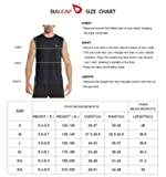 BALEAF Men's Muscle Sleeveless Shirts Performance