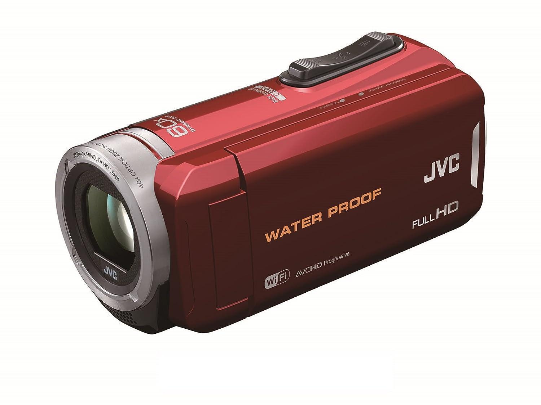 JVC KENWOOD JVC ビデオカメラ 防水5m防塵仕様 内蔵メモリー64GB レッド GZ-RX130-R  レッド B00J2OYS0I
