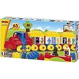 Ecoiffier - 3244 - Jeu De Construction - Train Des Chiffres - J'Apprends À Compter